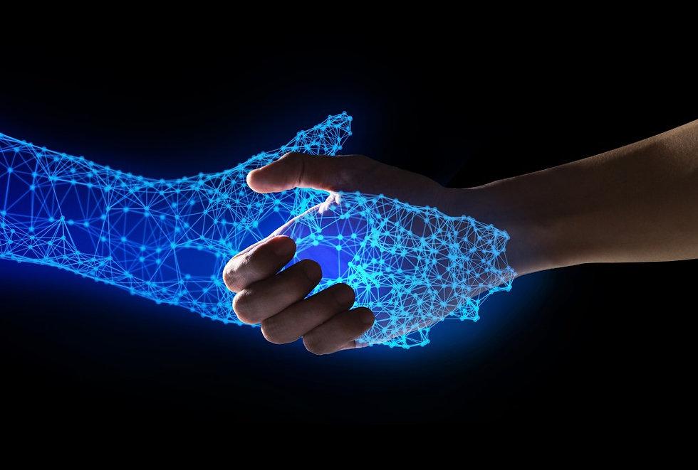 human-and-robot-handshake-with-empty-spa