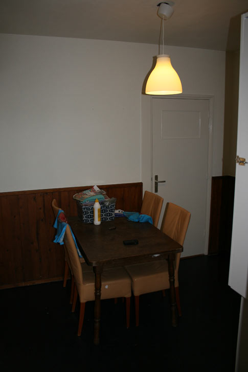 Halway with diner table