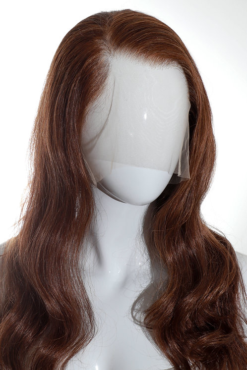"""perruque châtain clair """"cheveux naturels"""""""