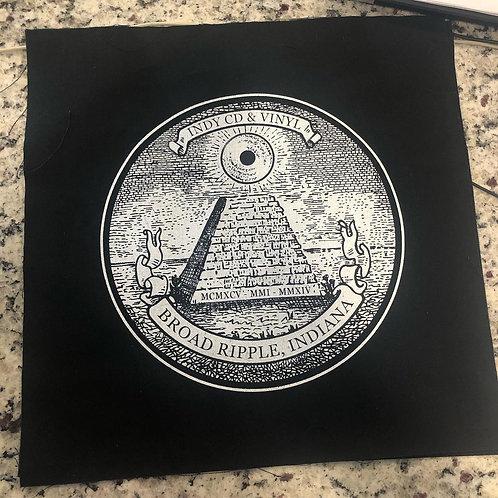 Illuminati logo canvas patch