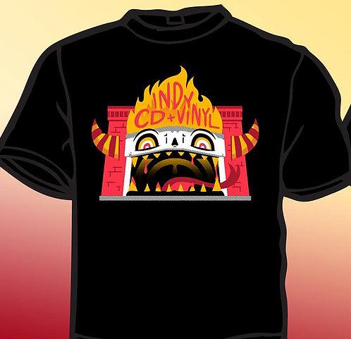 """Indy CD & Vinyl """"Monster"""" T-Shirt"""