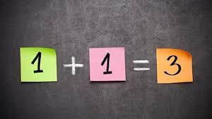 Quand 1+1=3 !