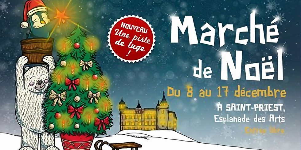 Marché de Noël St Priest