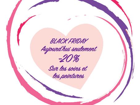 BLACK FRIDAY -20% SUR TOUT