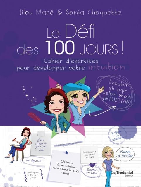 Défi 100 jours pour développer son intuition Lilou MACE et Sonia CHOQUETTE