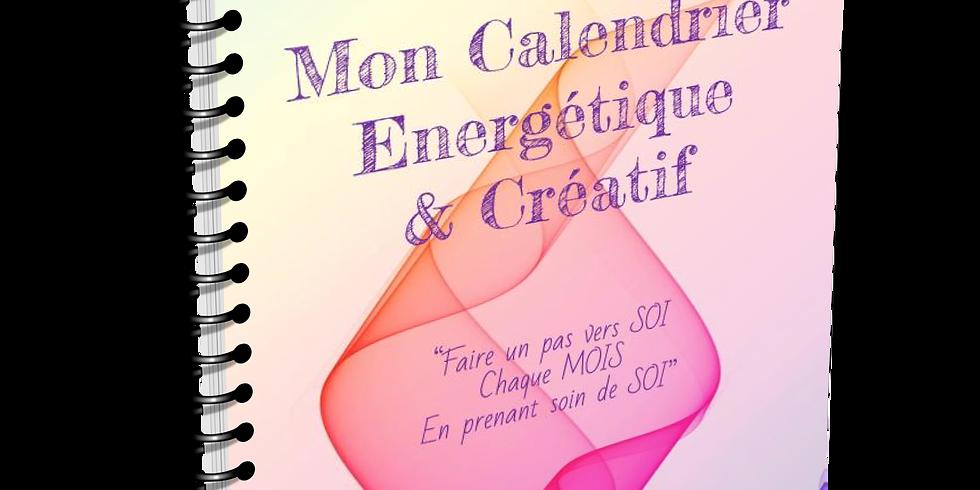 """Séance dédicace """"Mon calendrier énergétique et créatif"""""""