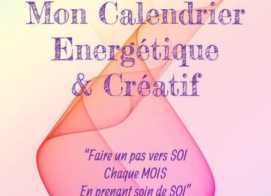 Mon calendrier énergétique et créatif - format PDF