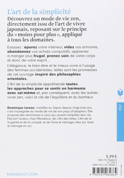 dominique loreau - l'art de la simplicité - claude leblanc - coeur d'énergie