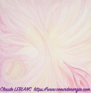 créativité - claude leblanc - coeur d'énergie - peinture énergétique et vibratoire