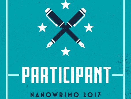 Je participe au NaNoWriMo !