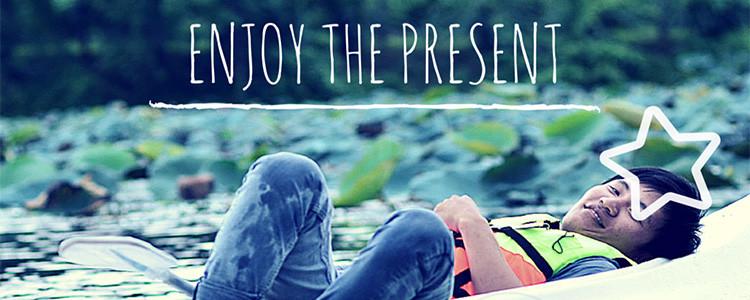 Enjoy the present - coeur d'énergie