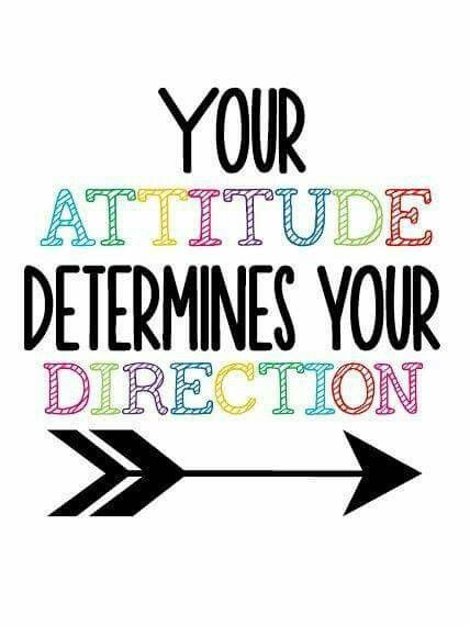 your attitude determines your direction - claude leblanc - coeur d'énergie