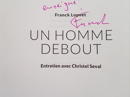 Un homme debout de Franck LOPVET