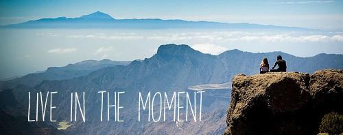 Savourez le moment présent - coeur d'énergie