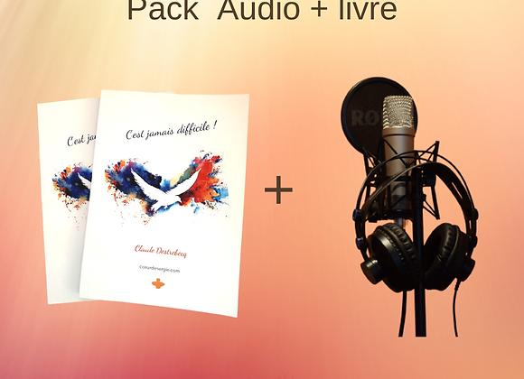 Coffret Livre Audio et version papier : C'est Jamais Difficile