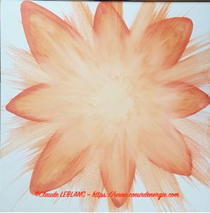 vibration coeur d'énergie - claude leblanc - peintures vibratoires
