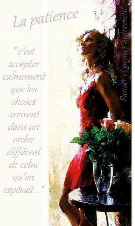 La patience - coeur d'énergie - Claude LEBLANC