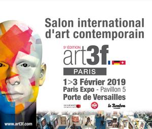 #ART3F #PARIS #coeurdenergie #claudeleblanc