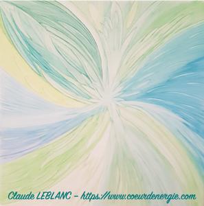 peinture énergétique - claude LEBLANC - Coeur d'énergie