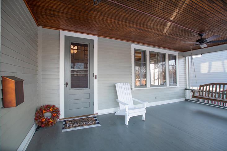 Exterior Real Estate Photography - Porch
