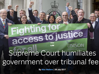Supreme Court humiliates government over tribunal fees