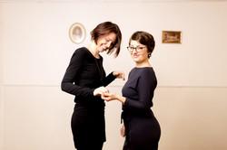 Lena Staudigl und Theresa Ivanovic