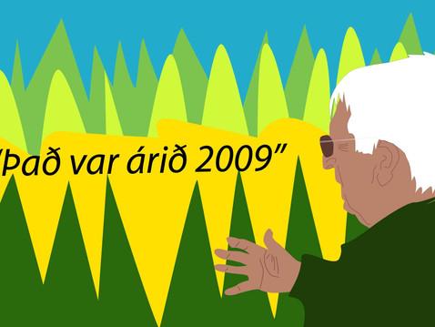 Hugmyndir um framtíð skógræktar árið 2009