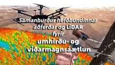 LiDAR- tæknin notuð við skógmælingar