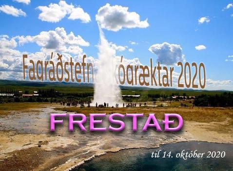Fagráðstefna skógræktar 2020- frestað