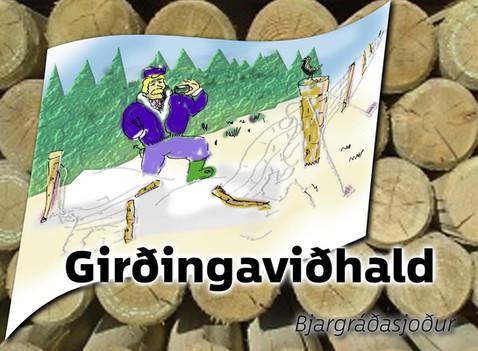 Girðingaviðhald-styrkur