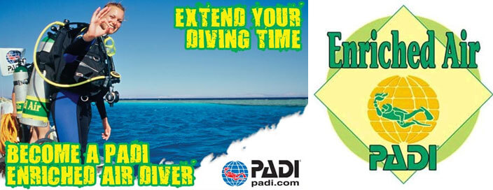 PADI-enriched-AIR-speciality-course-dublin-ireland-scuba-diving-specialities