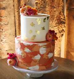 I've made a few wedding cakes for the go