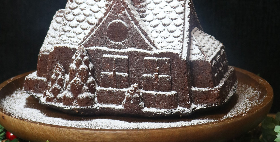 Giant Extra Special Gingerbread House (serves 12-16)
