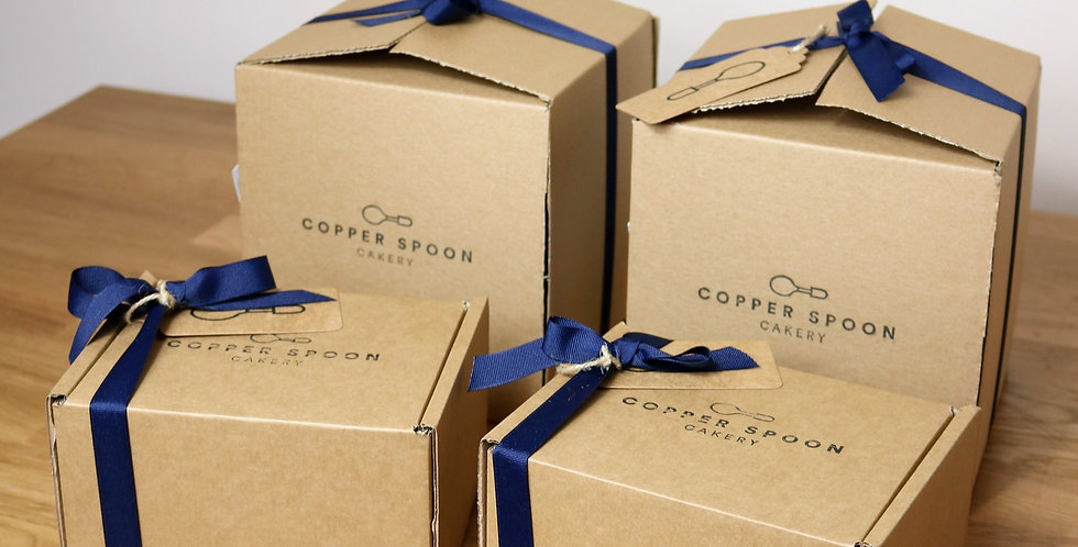 Postal Order - Classic Brownies and Blondies - Box of 12.