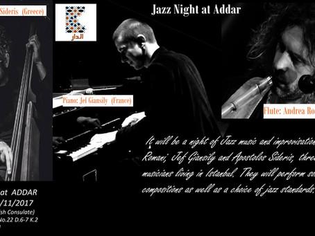 Jazz Night at Addar Center, Istanbul