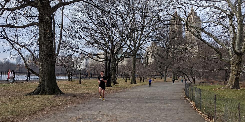 MANHATTAN RUN: First group run of 2020