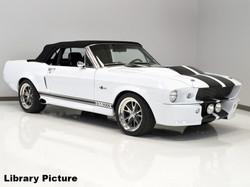 Mustang Shelby Gt500e Convertible