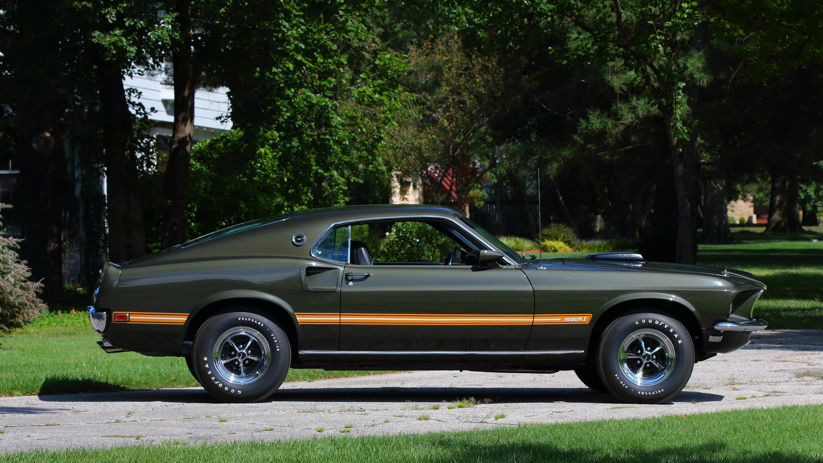 1969 Ford Mustang Mach1 Cobra Jet