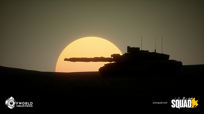 Squad game tank