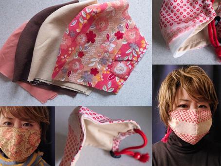 簡単!おしゃれな手作りマスクですっぽりプロテクト
