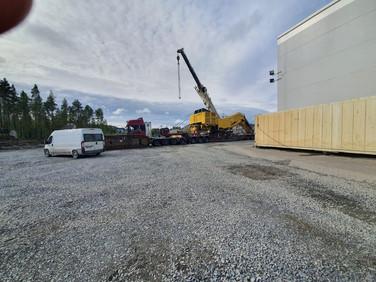 Crane Operators on site