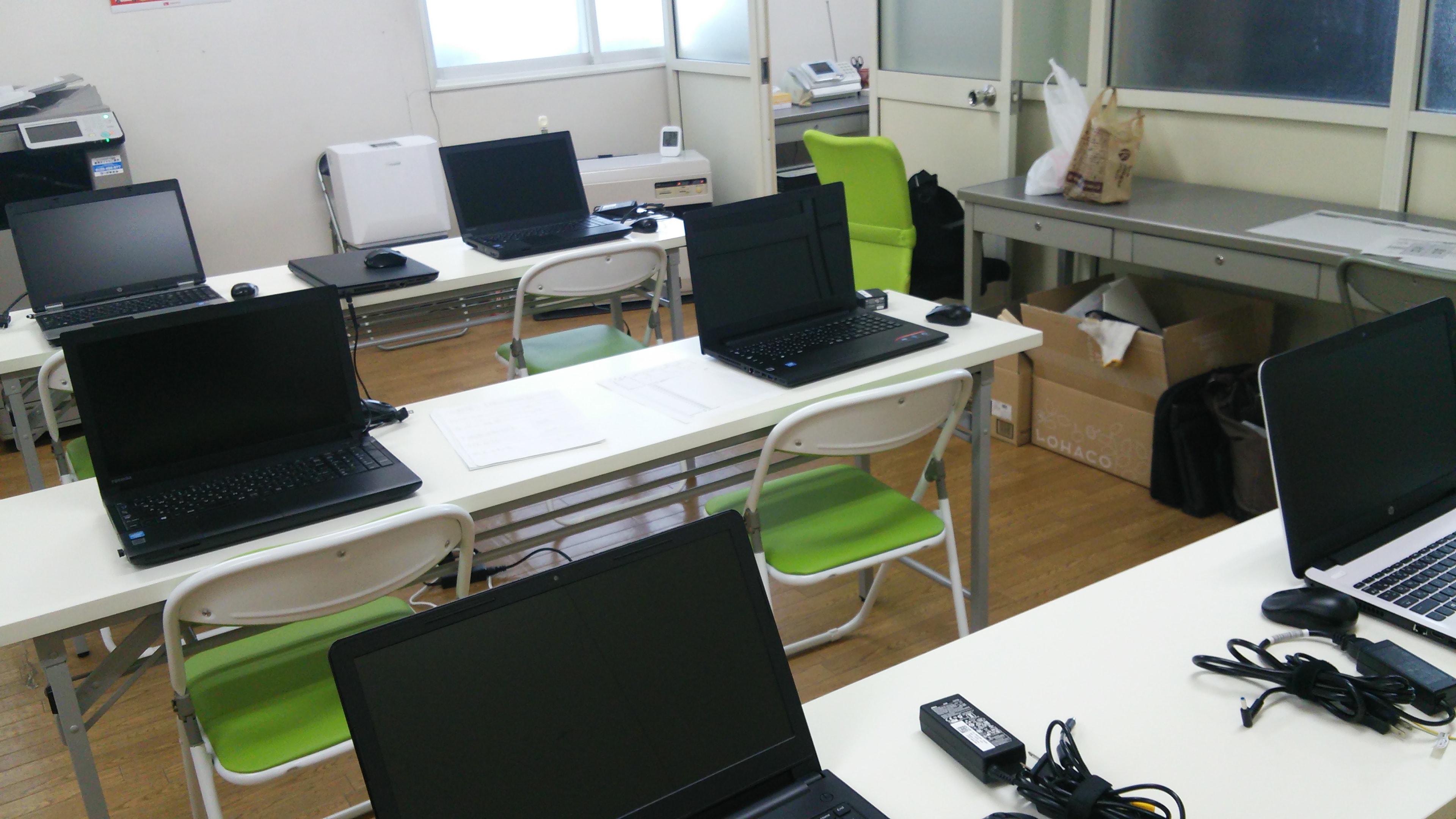 講義部屋(PC設置)