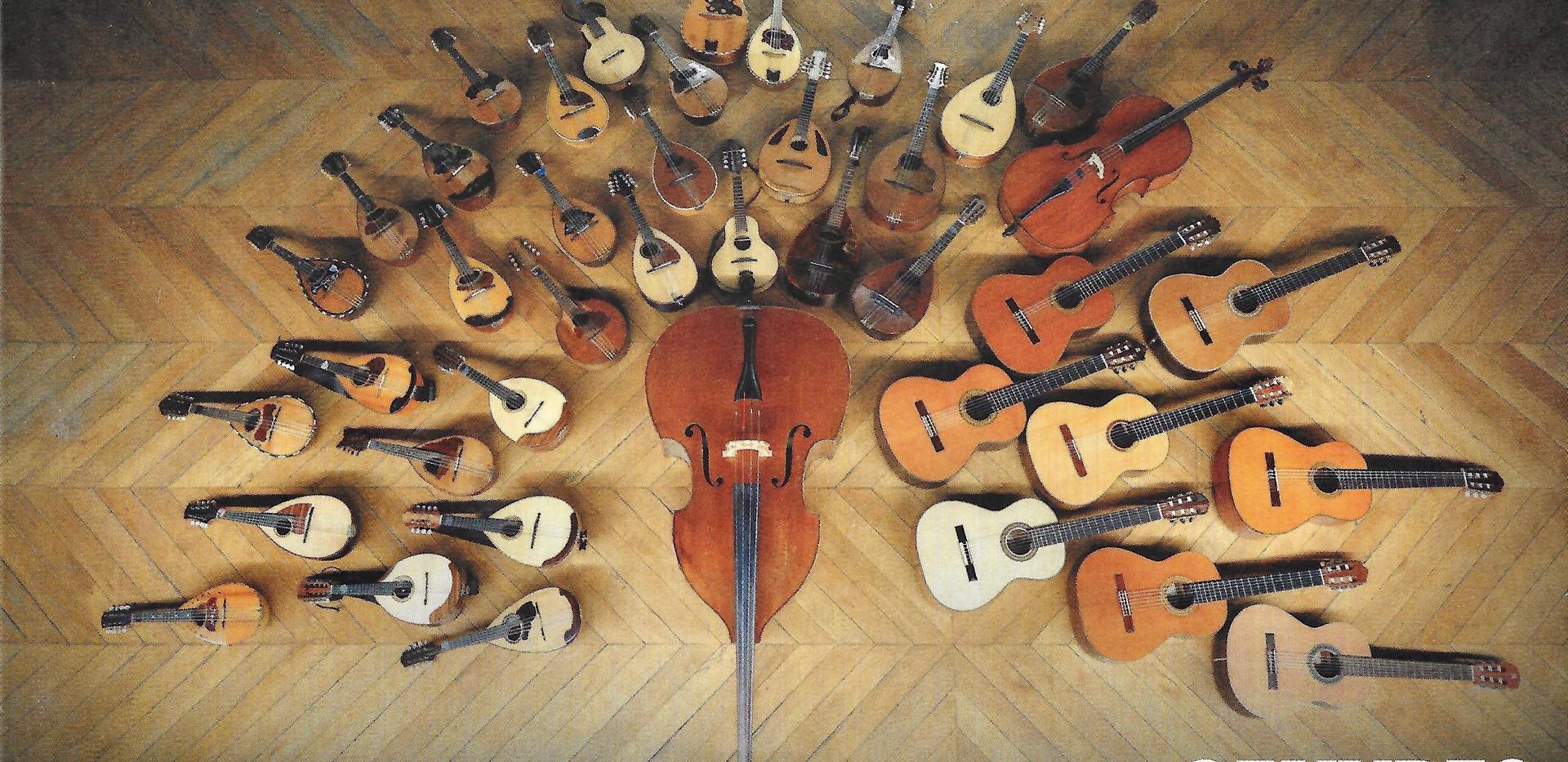 Oeuvres de Vincent Beer-Demander pour orchestre à plectre, duos, solos