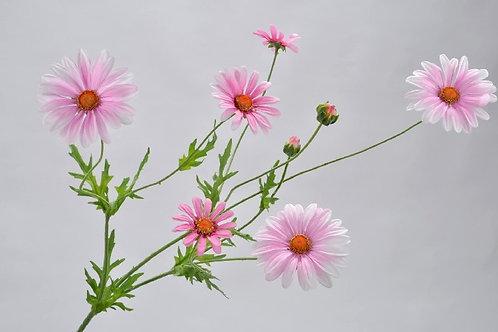 Margriet tak roze silkka (zijdebloem)