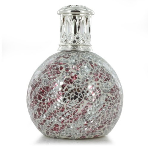 Geurlamp Silver Red small fragrance