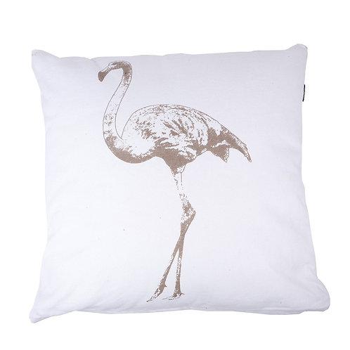 kussen flamingo ivoor/kiezel (in the Mood)