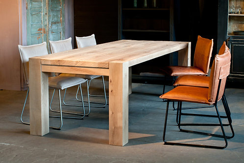 tafel Rustica Dopmeijer (massief eiken)