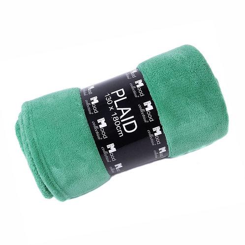 Fleece plaid groen (in the mood)