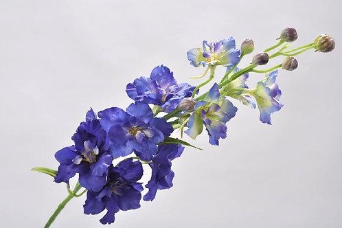 Delphinium tak paars (zijdebloem)