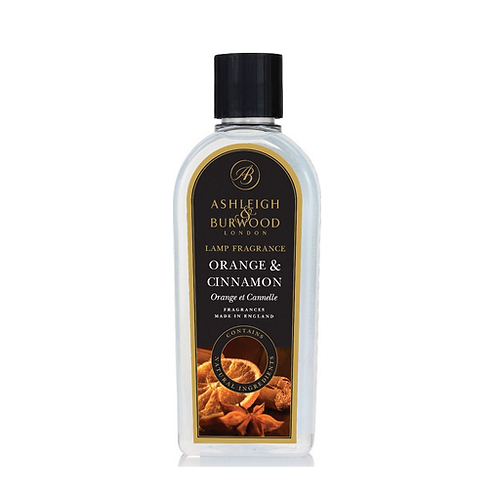 Orange & Cinnamon 500 ml lamp oil